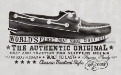 The original boat shoe since 1935… Sperrys!