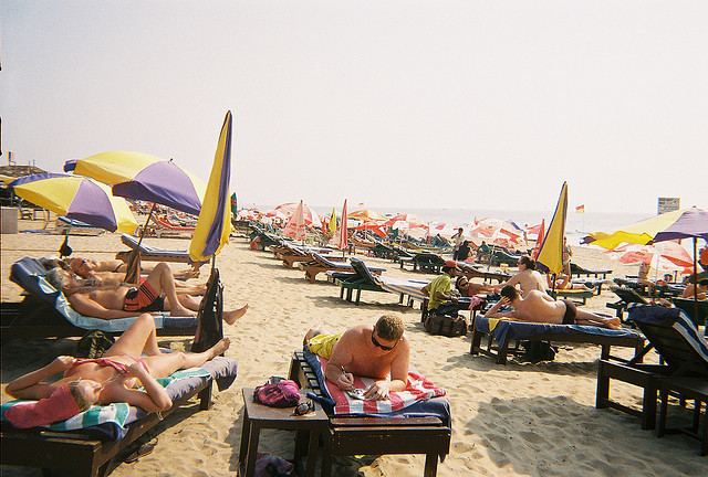Baga Beach by jamiepaul on Flickr.