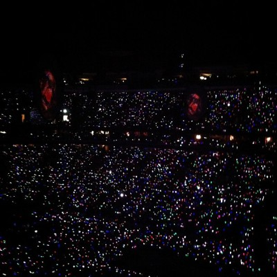 Coldplay sea of lights (Taken with Instagram)