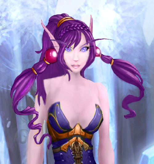 sithgirl:  cyanidreams:  Tyri is the most beautiful of all warcraft dragon girls  This is for you, mosymoseys. Purrr. (Also, this is how large boobs work!)