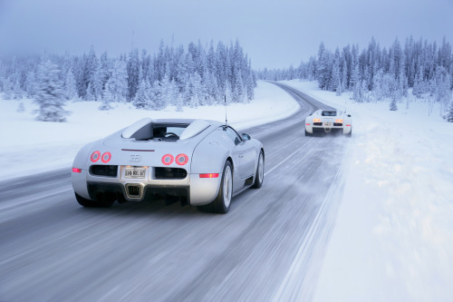 automotivated:  Bugatti Veyron 16.4 Grand Sport Winter Drive (by Bugatti Automobiles S.A.S.)