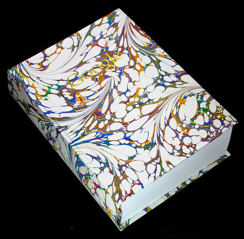 """Google"" is a 1240 page book by Ben West and Felix Heyes, displaying the first image result for every word in the dictionary."
