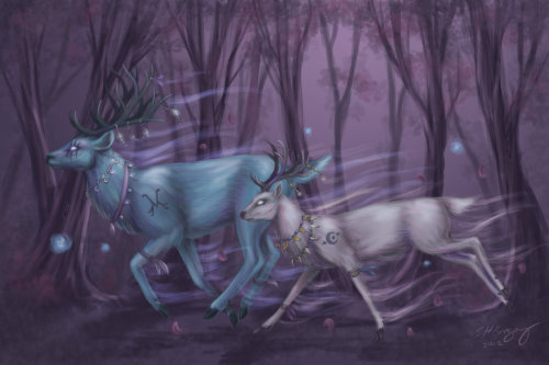 (via Druid Stag Form by *DuskDiamond)