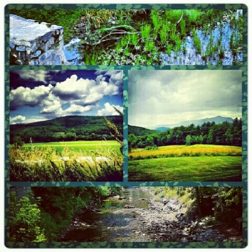 Scenes from Vermont and New Hampshire (Instagram filter)