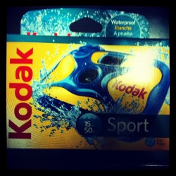 #Kodak#Waterproof#SingleUse#Camera (Taken with Instagram)