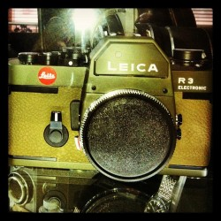 #Leica#Camera#R3#Electronic#Armygreen (Taken with Instagram)