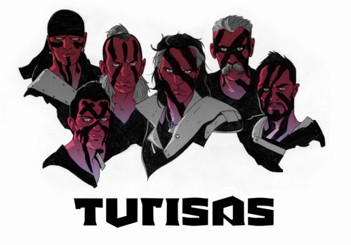 Turisas. Drew this on my lunch break today.