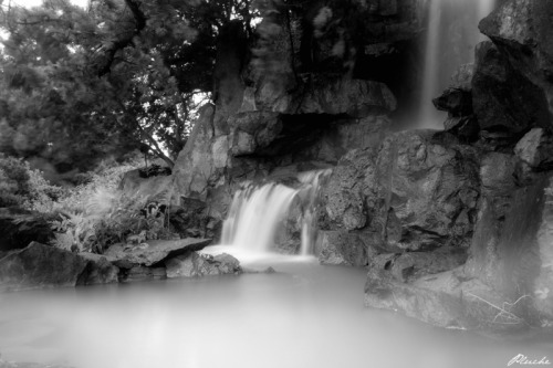 Waterfall Somewhere in the wilderness, far from everything, 2012