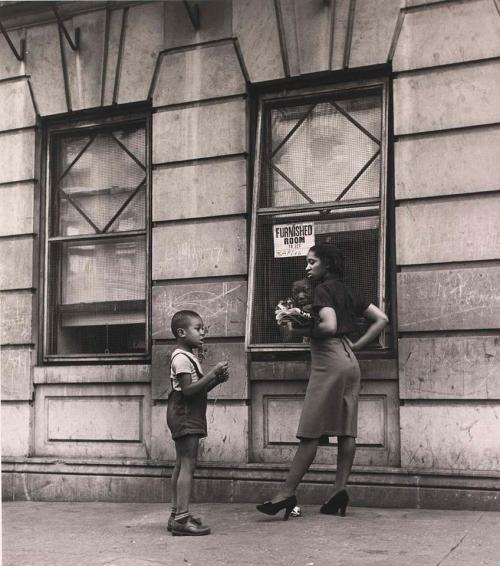 Little boy and girl on a Harlem Street, 1940's The little boy and girl on a Harlem Street, is a vintage Harlem photograph from the 1940′s. (more…)View Postshared via WordPress.com