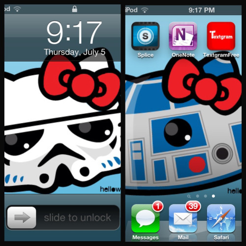 ms-peaches:  Can I just say that I have the coolest wallpapers on my iPod. ^.^