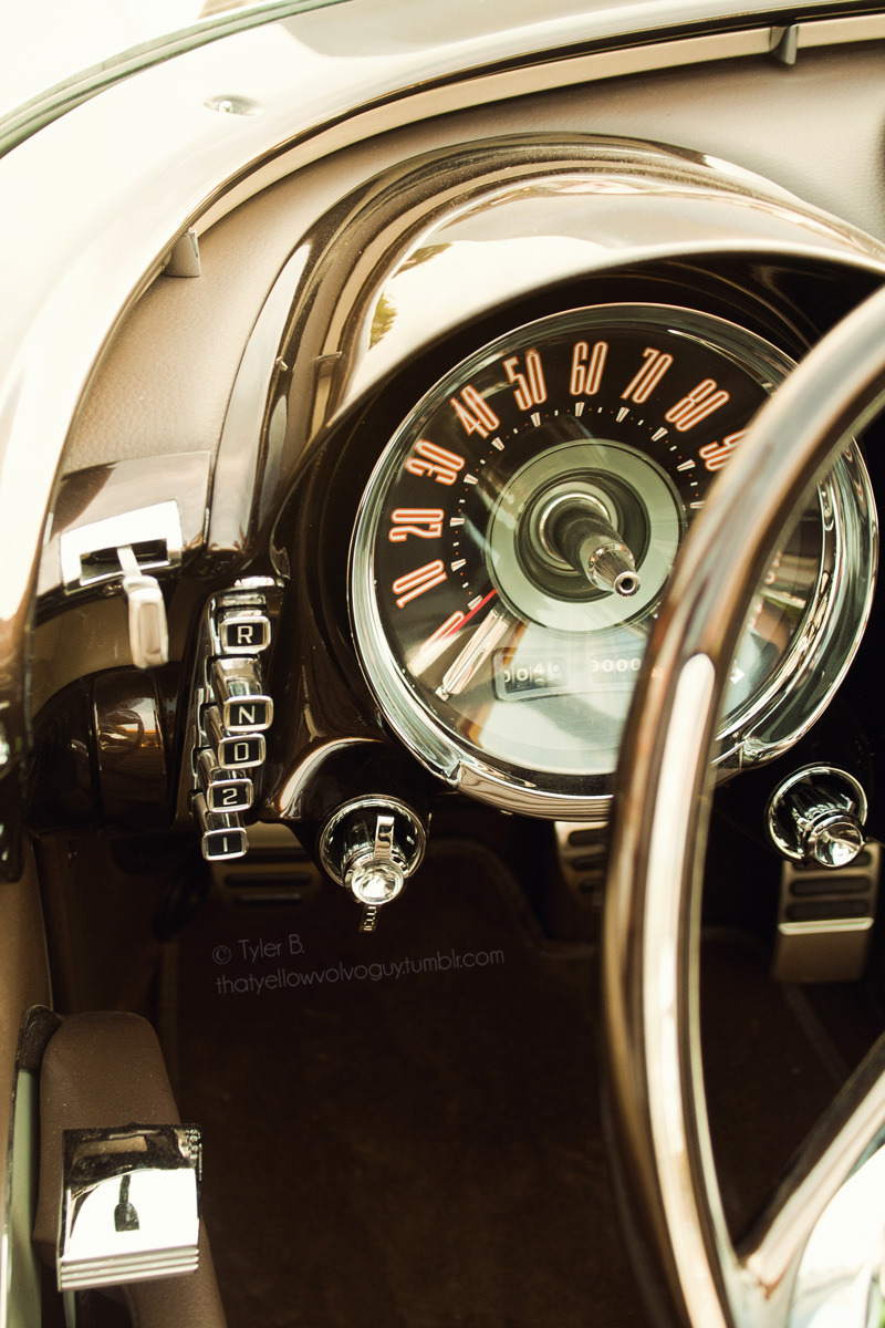 thatyellowvolvoguy:  Interior details on a custom Chrysler Imperial, took this last summer.