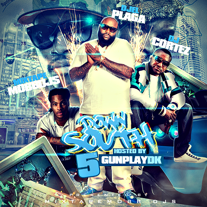 Featuring New Shawty Lo, Waka Flocka, Future, and Juicy J ! Download Now ! http://www.datpiff.com/DJ-Cortez-Down-South-Vol5-hosted-By-gunplaydk704—mixtape.370022.html