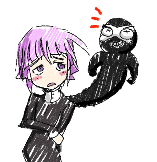 cheppo:  i've also been working my way through Soul Eater recently. Crona is my favorite!