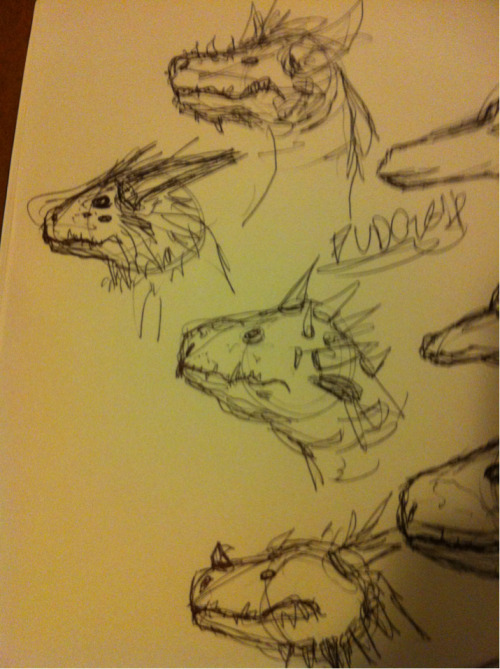 iamspoon:  attempting to draw dragons  nice