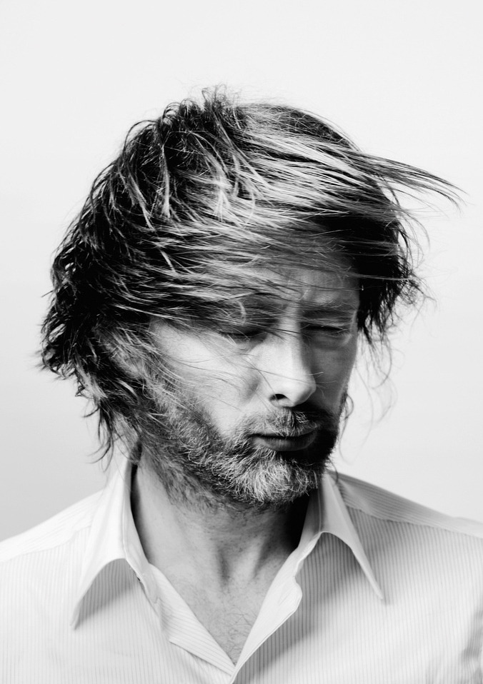 "hermione-granger:  Hermione-Granger's Favorite People: Thom Yorke (11 of 125)  ""You will never make friends unless you like everyone genuinely. Oh well, I'm fucked then aren't I?"""
