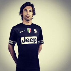 inventfootball:  It's difficult to imagine Juventus' new away kit looking so good if it weren't worn by this man.