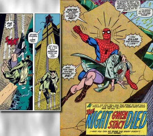 In 1973, Gwen Stacy dies of a broken neck when Spider-Man tries to save her from falling off a bridge. When Spidey's web snags her, the whiplash is strong enough to break her neck… Will the producers of the Amazing Spider-Man reboot have the balls to kill off the lovely Emma Stone in a sequel?