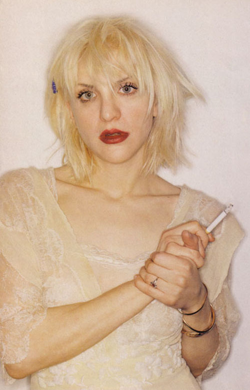 Courtney Love photographed by Juergen Teller for i-D Magazine, April 1994