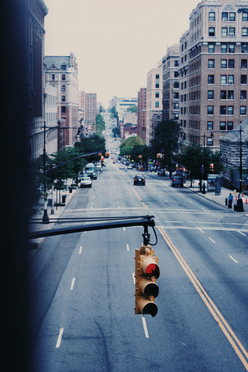tupa-c:  NYC | traffic light (by wolf in paris ∞)