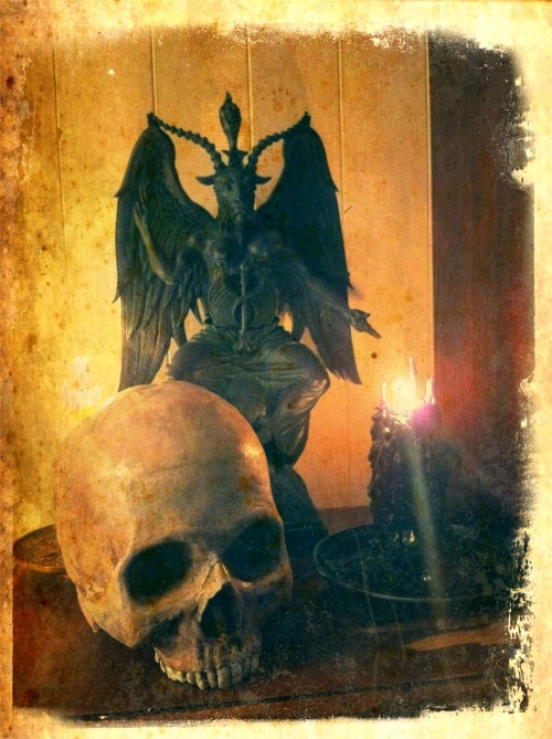 Baphomet Altar - Photo by M. Venus