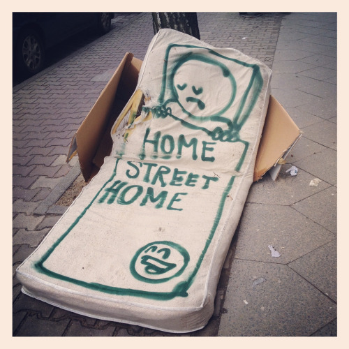 street-art:  home street home by Prost (via nolifebeforecoffee☆)