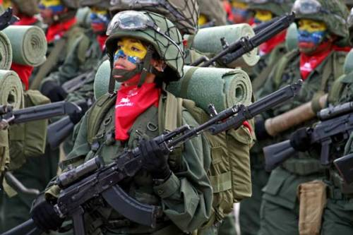 If loving this picture makes me a tankie… I PLEAD GUILTY. Venezuela… una revolución pacífica pero armada! #supportourtroops
