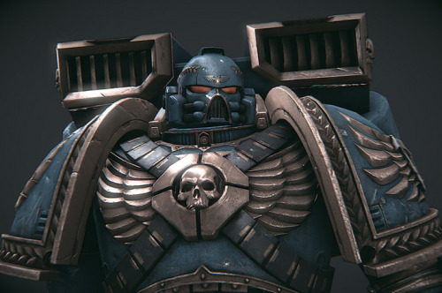 noobovich:  (via warhammer 40k in game model by zivix - CGHUB)