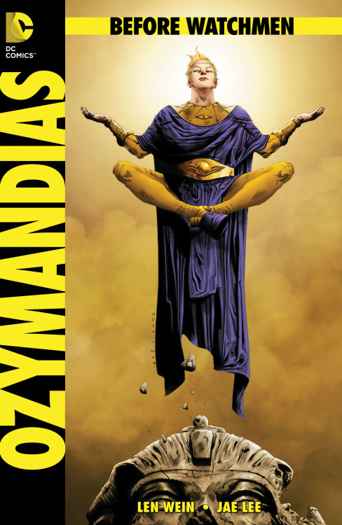 OZYMANDIAS #1 is the best 'BEFORE WATCHMEN' title yet. My review.