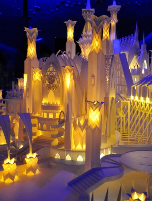 homedesigning:  Dream Paper Castle!