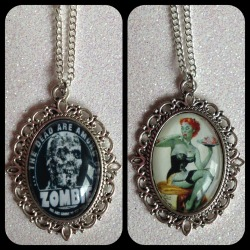 The Dead Are Among Us & Zombie Pinup!