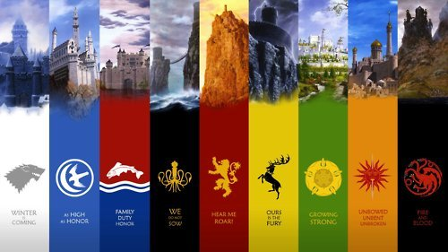 rej-021087:  Game of Thrones Sigils