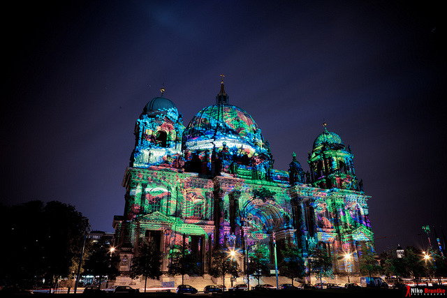 Berliner Dom - Festival of Lights 2011 by Belze83 on Flickr.