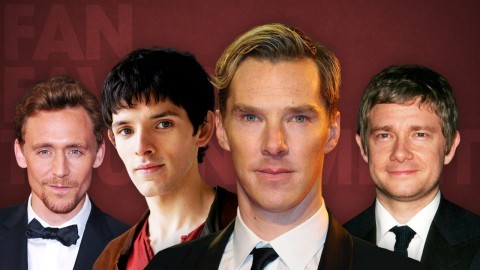 It's Benedict Cumberbatch v Tom Hiddleston (for 1st and 2nd place) and Martin Freeman v Colin Morgan (for 3rd) in the final of Anglo Fan Favorites Men of 2012!