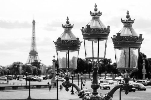 by Matthew Maddock, The Eiffel Tower from Place de la Concorde. 2012. X-Pro 1 + 60mm macro.