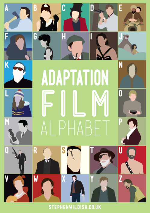 Friday Project: Adaptation Film Alphabet