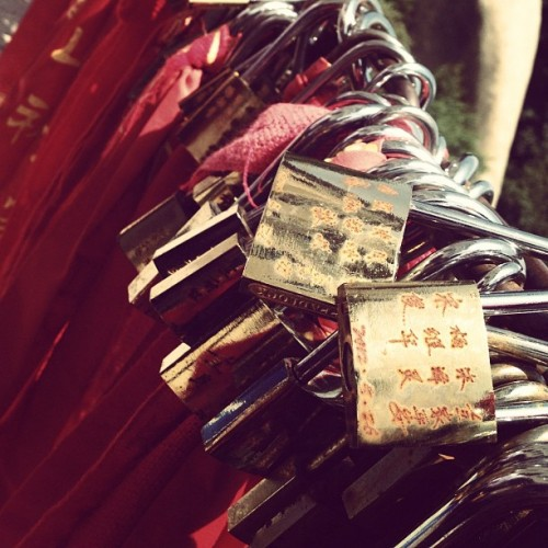 Locks of love (Mt. Huashan) (Taken with Instagram)