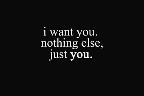 donahlovequotes:  nothing, just you…