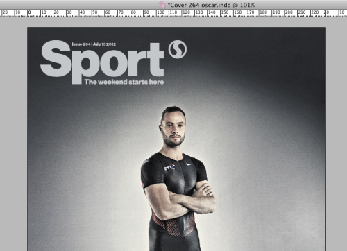 Next week's @sportmaguk cover with @OscarPistorius is taking shape.