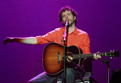 High-res. Bret McKenzie of Flight of The Conchords performs on stage at Sydney Entertainment Centre on July 6, 2012 in Sydney, Australia.