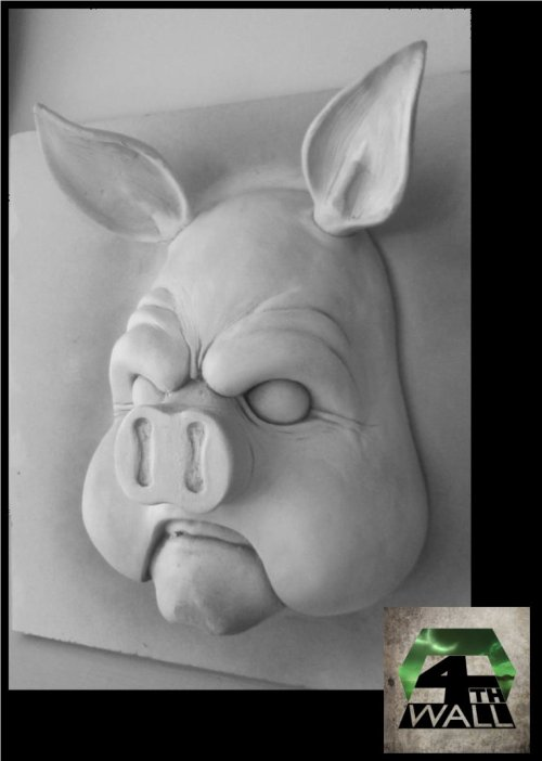 Professor Pyg MK2 - Managed to spectacularly destroy the mould for Professor Pyg, just as I receive more orders for him, so had no choice but to dig deep and resculpt him in one night. Overall, much nicer than my first version, more detailing, more sinister.