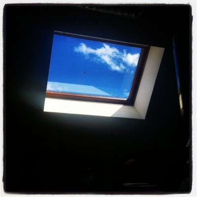 Dream of escape. #meeting #sky (Pris avec Instagram)