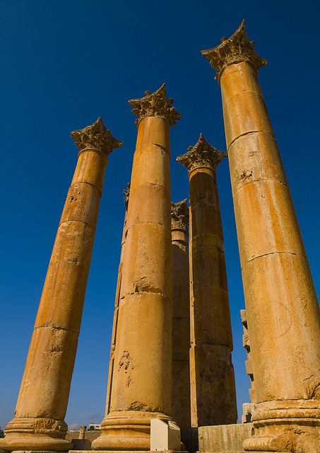 Temple Of Artemis, Jerash, Jordan by Eric Lafforgue on Flickr.