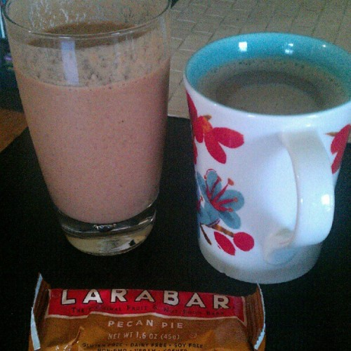 Breakfast of champions. (Taken with Instagram)
