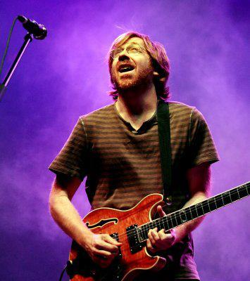 Trey Anastasio of Phish performs during the Bonnaroo Music and Arts Festival in Manchester, Tenn., Sunday, June 10, 2012. (Dave Martin / AP) http://on.fb.me/KXUMe5