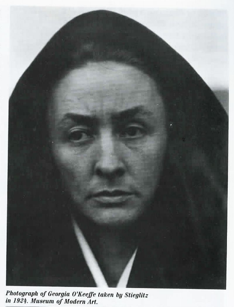 "from Anna Chave Website ""O'Keeffe and the Masculine Gaze,"" Art in America 78, no. 1 (January 1990): 114-25+; rpt. in From the Faraway Nearby: Georgia O'Keeffe as Icon, ed. Christopher Merrill and Ellen Bradbury, Reading, Mass.: Addison-Wesley, 1992, 29-42+; rpt. (revised) in Reading American Art, ed. Marianne Doezema and Elizabeth Milroy, New Haven: Yale University Press, 1998, 350-70 (pdf)"