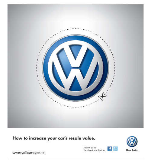 yoannmichaux:  How to increase your resale value, Volkswagen Ad