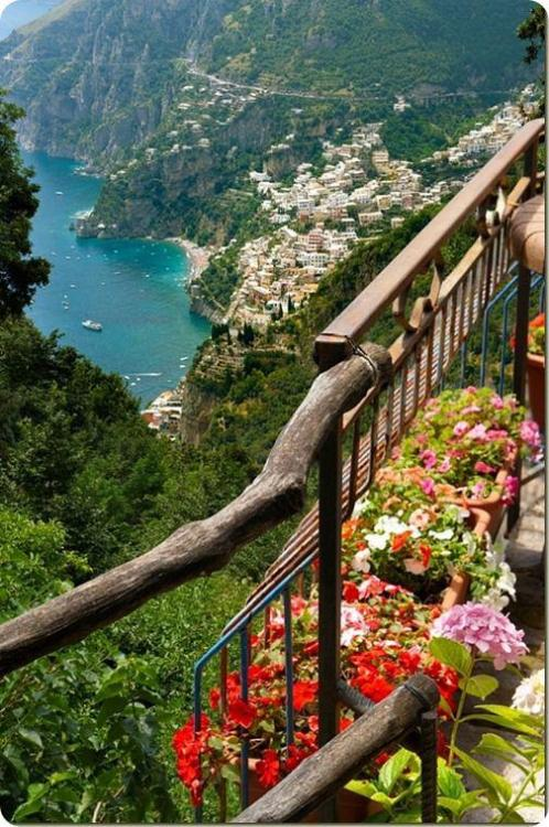Get in on our #RRItaly fun! fluffycloudonair:  Walk of the Gods, Amalfi Coast, Italy