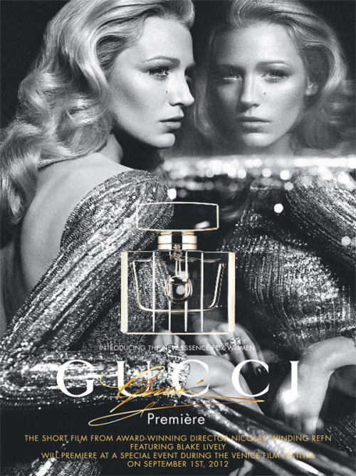 "BeLighter Blake Lively by Mert & Marcus for Gucci's  Fragrance Campaign ""Première"""