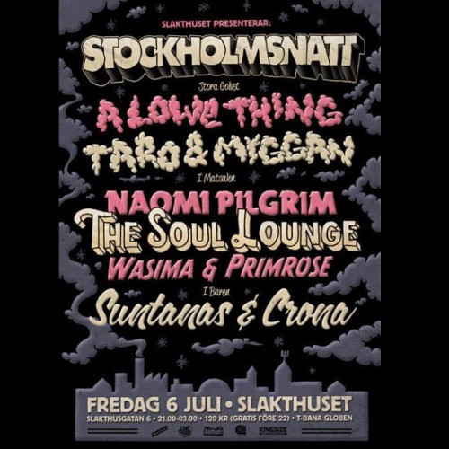 #stockholmsnatt ikväll på Slakthuset http://www.facebook.com/events/374070439326450/ (Taken with Instagram)