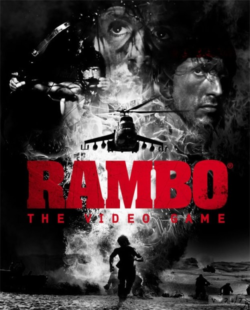 Rambo The Video Game 2012 #miedo